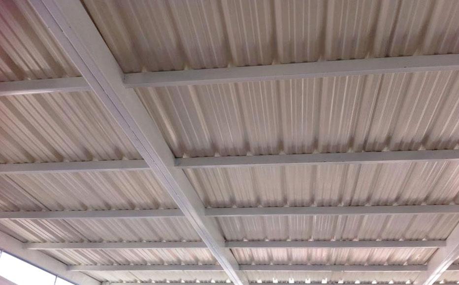 Estructuras de acero para láminas de PVC