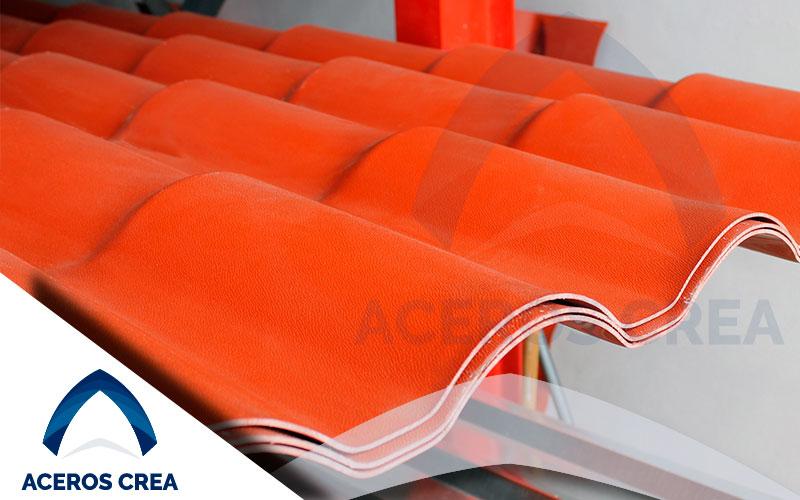 Lámina Tipo Teja Plástica - Precio de Ultrateja PVC