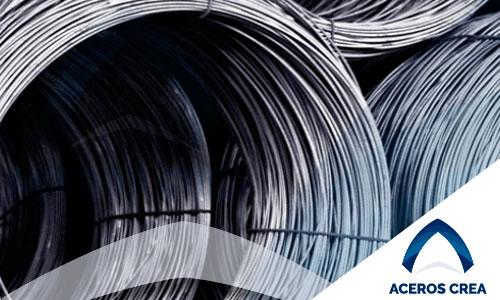 Alambrones de acero para estructuras