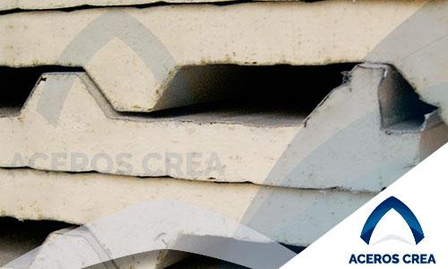 Panel de acero galvanizado Galvatecho