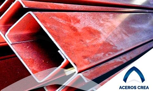 Monten de acero pintado